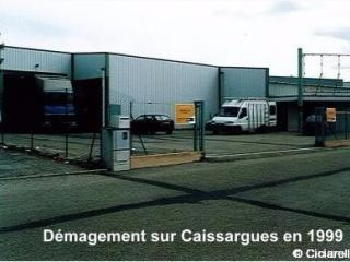 Nouveau bâtiment sur Caissargues
