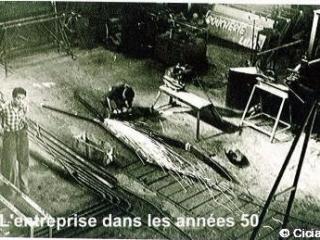 l'atelier fer dans les année 50