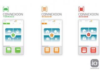 Connexoon Somfy, 3 Apps dédiées à chaque environnement