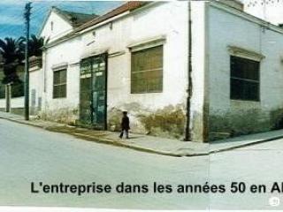 l'entreprise dans les années 50