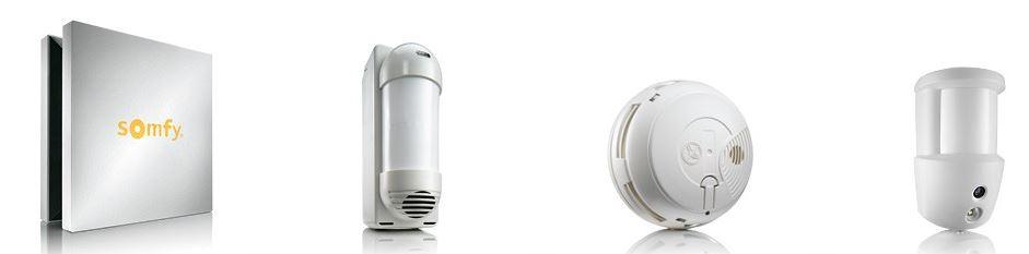 Alarme Somfy Connecté À Votre Maison - Acheter Domotique, Alarme